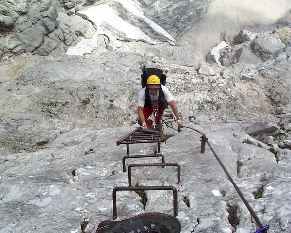 Klettersteig Priel : Grosser priel klettersteig 23. 24.8.2001 126.jpg