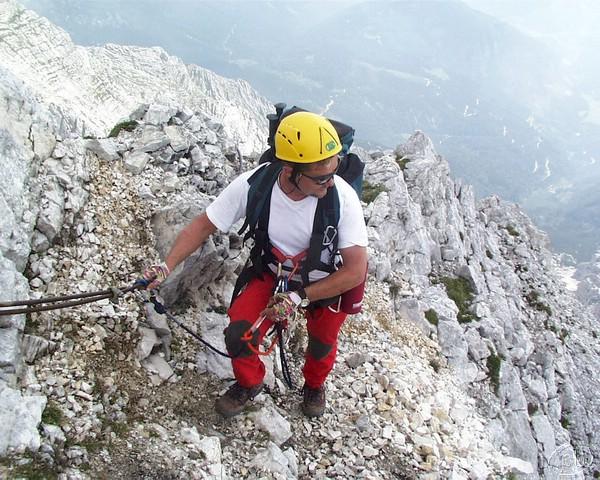 Klettersteig Priel : Grosser priel klettersteig 23. 24.8.2001 159.jpg